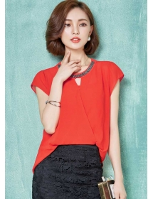 blouse korea T3553