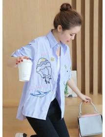 kemeja wanita import T3559