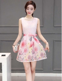 dress korea D3946
