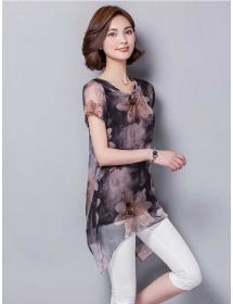 blouse wanita import T3592