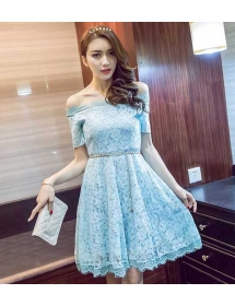 dress brukat import D3963