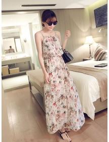 long dress chiffon D3969