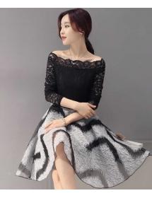 dress korea D3971