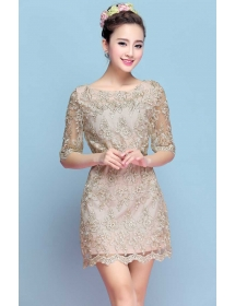 dress korea D3972