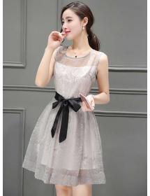 dress korea D3974