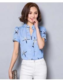 blouse chiffon import T3619