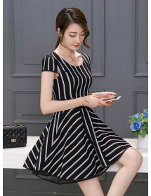 dress korea D3981