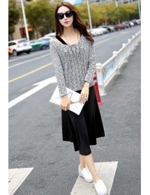 midi dress import D3983