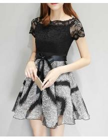 Dress korea D3987