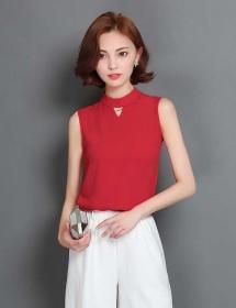 blouse chiffon import T3629