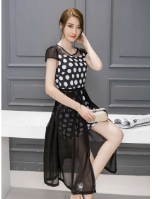 dress korea D3992