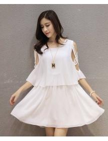 dress wanita import D4004