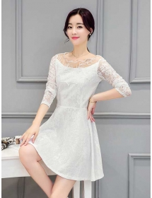 dress korea D4039