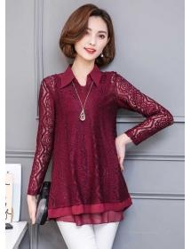 blouse brukat T3682