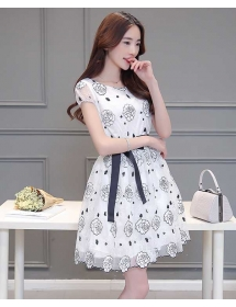 dress korea D4125