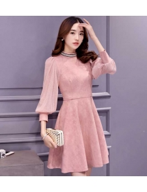 dress korea D4141