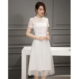 Midi Dress Korea D4179 Moro Fashion