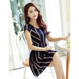 dress korea D4184
