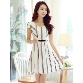 dress korea D4185