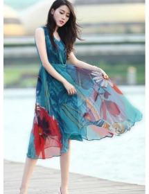 midi dress import D4204