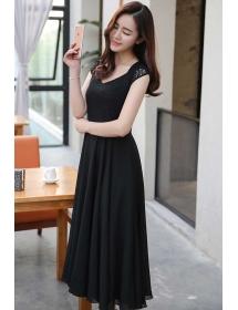 long dress chiffon D4206