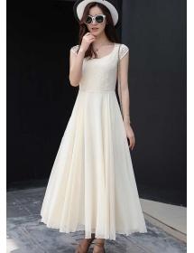 long dress chiffon D4207