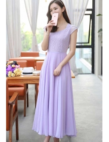 long dress chiffon D4208