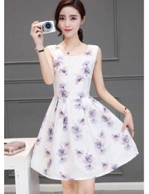 dress korea D4209