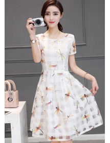 dress korea D4210