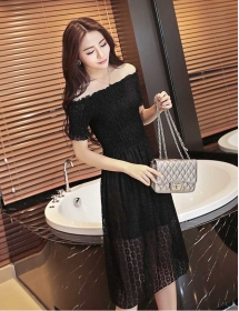 dress brukat D4211