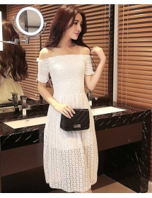 dress brukat D4212