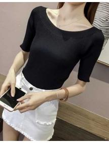 blouse rajut import T3763