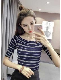blouse rajut import T3764