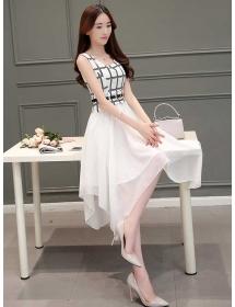 dress korea D4228