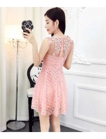 dress pesta import D4235