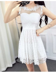 dress pesta import D4236