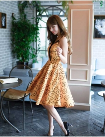 dress korea D4239