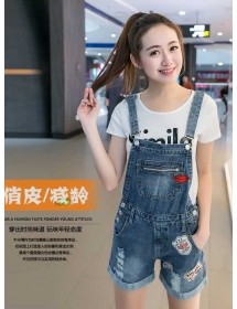 overall jeans D4249