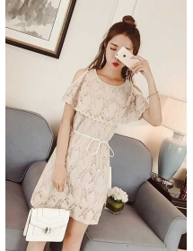 dress brukat import D4254