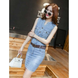 dress denim D4256