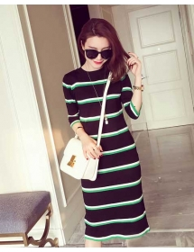 dress rajut import D4260