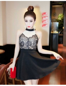 dress pesta import D4266