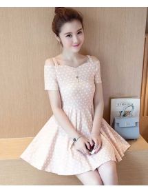 dress polkadot import D4270
