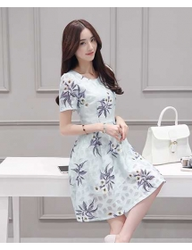 dress korea D4273