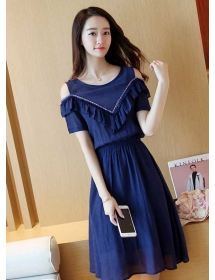 dress wanita import D4281