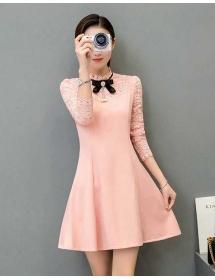 dress wanita korea D4283