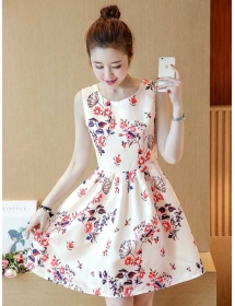 dress korea D4284