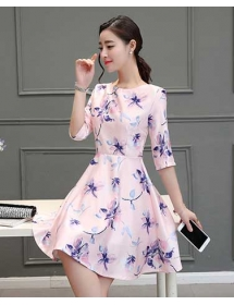 dress korea D4289