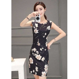 dress korea D4297