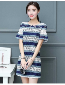 dress brukat korea D4300